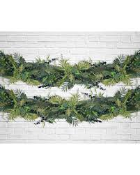 wedding arch leaves deals on tropical greenery garland luau