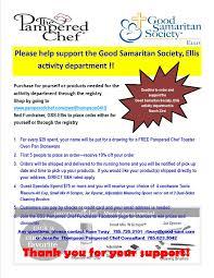 ellis good samaritan society fundraiser