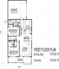 2 story floor plans without garage simple bedroom house with