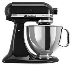 kitchenaid mixer black amazon com kitchenaid ksm150psob artisan series 5 qt stand mixer