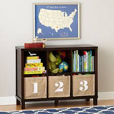 Cream Wood Bookcase Kids Bookcases U0026 Bookshelves The Land Of Nod