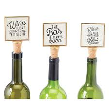gold frame wine bottle stopper mud pie mud pie