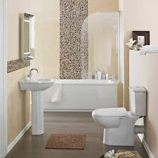 bathroom inviting cloakroom suites for your bathroom design ideas this small bathroom shows that a small amount of mosaic tile also makes a big impact in a bathtub the explosion of color and pattern in this relatively