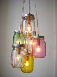 Jar Pendant Light Weekend Project Mason Jar Pendant Lights Poppytalk