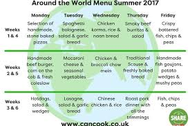 your lunch summer 2017 we reveal the menu you can help feed