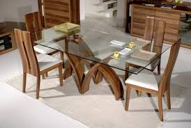 Round Glass Dining Room Table Crystal Wine Glass Cheetah Skin - Dining room table base for glass top