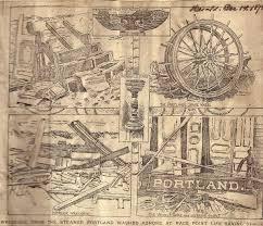 Portland Speed Map by Portland Harbor Musuem Map