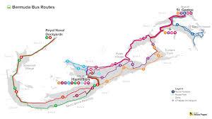 Map Of Bermuda Bermuda Bus Routes Bermuda Blog Yabsta
