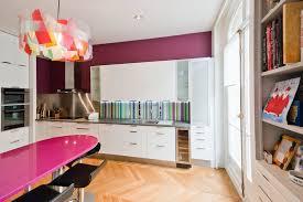 cuisine couleur aubergine une cuisine gourmande avec la couleur violet aubergine