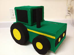garbage trucks for kids surprise made this john deere valentine u0027s day box for my 4 year old for