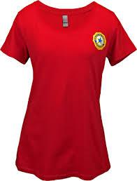 American Legion Flag Auxiliary Scoop Neck T Shirt American Legion Flag U0026 Emblem