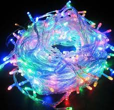 Multi Function Christmas Lights Yellow 144 Superbright Led String Lights Multifunction Clear Cable