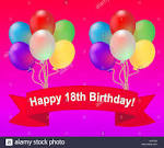 Image result for happy 18th birthday balloons