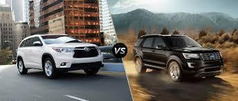 Ford Explorer 2015 - 2015 toyota highlander vs 2015 ford explorer