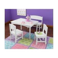 kidkraft nantucket 4 piece table bench and chairs set viv rae alexa kids 3 piece table chair set finish walnut products