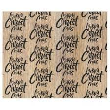 christian wrapping paper rustic wood merry christmas woodland religious wrapping paper