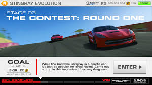 corvette stingray evolution stingray evolution stage 03 goal 3 of 4 racing 3 corvette z51