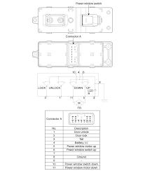 kia rio power window switch circuit diagram power windows