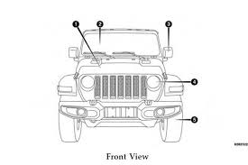 4 door jeep drawing 2018 jeep wrangler owner u0027s manual leaked key details revealed