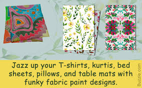 Bed Sheet Designs For Fabric Paint Outstandingly Awesome Fabric Paint Designs You Shouldn U0027t Miss