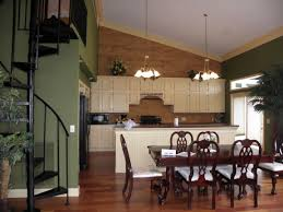 Two Wall Kitchen Design Kitchen Designs Creating A Half Wall Between Kitchen And Dining