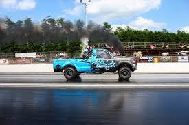 Ford Diesel Drag Truck - media