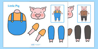 split pin pigs characters pigs