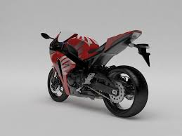 cbr racing bike price honda cbr 1000 rr 08 custom 3d model cgtrader