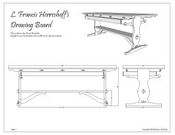 another look at creating plans from a sketchup model finewoodworking