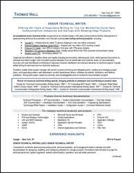technical resume writer resume samples for all professions and levels