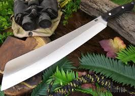 Bark River Kitchen Knives by Bark River Knives Senegal African Blackwood Barking F C