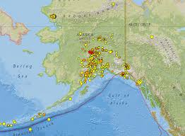 United States Earthquake Map by Mid Ocean Ridges And Alaska Earthquakes 5 11 June 2014
