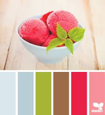 Popular Color Palletes Popular Color Palette Sorbet Shades Stitch And Unwind