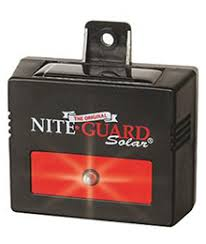 nite guard solar predator control light 4 pack nite guard the original predator light protection