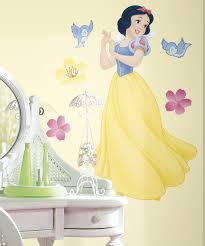disney princess snow white peel stick decal set zulily