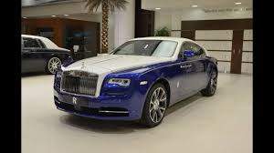 rolls royce wraith blue salamanca blue u0026 english white rolls royce wraith 2017 youtube
