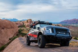 nissan titan aftermarket stereo this tricked out nissan titan is a go anywhere basecamp on wheels