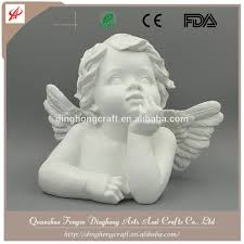 polyresin angel wholesale for home decoration big white angel