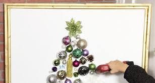 light up ornament tree on canvas hometalk