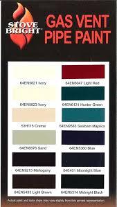 stove bright high temp paint color chart stove bright paint colors