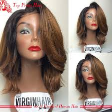 pictures of black ombre body wave curls bob hairstyles cheap short bob wavy 1b 30 ombre glueless full lace wigs brazilian