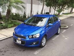 Fabuloso Autos en Lima - chevrolet sonic azul gasolina lima de segunda mano  #GY54