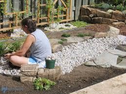 low maintenance gardening part 1 dry creek bed hometalk