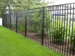 Cheap Fences For Backyard Fencing Ideas High Aluminum Fence Ideas Modern Home Design