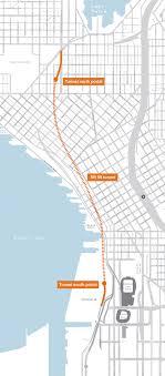 wsdot seattle traffic map alaskan way viaduct tunneling
