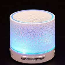 portable speaker with lights a9 smart led light mini wireless bluetooth speaker portable
