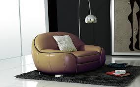 canapé en ensemble de canapé en cuir italien 2 places fautuil modèle cotton