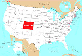 State Map by Detailed Location Map Of Colorado State Colorado State Detailed