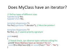 Template Typename T practical meta programming