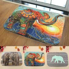 3d animal non slip absorbent elephant bath bathroom floor shower